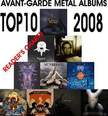 Goddess entered Top-10 Albums of 2008 in Avant-garde Metal!