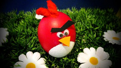 Happy Angry-Birds Easter