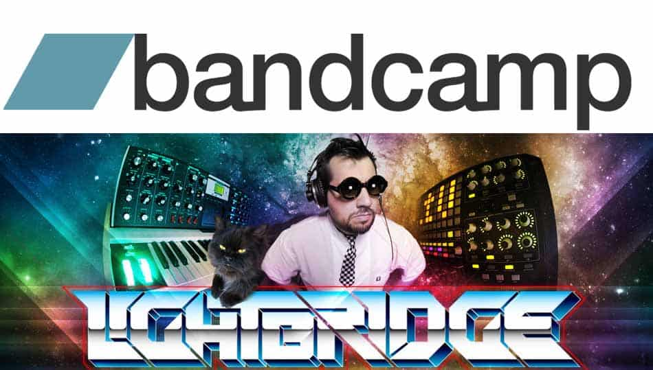 All our music streaming at Bandcamp.com