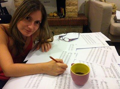 Hyperspeed update: Choral arrangements have begun!