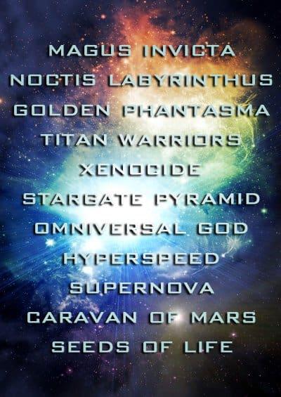 Dol Ammad - Hyperspeed Tracklist