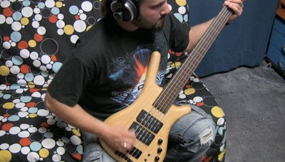 "Guitars and Bass completed for ""Hyperspeed"""