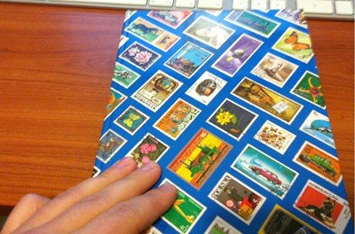 Wanna see my stamp collection?