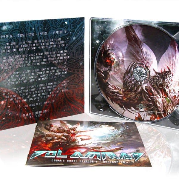 "Dol Ammad - ""Cosmic Gods: Episode I - Hyperspeed"" CD"