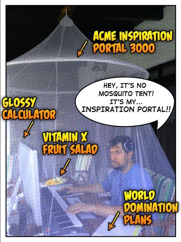 Thanasis' Inspiration Portal 3000