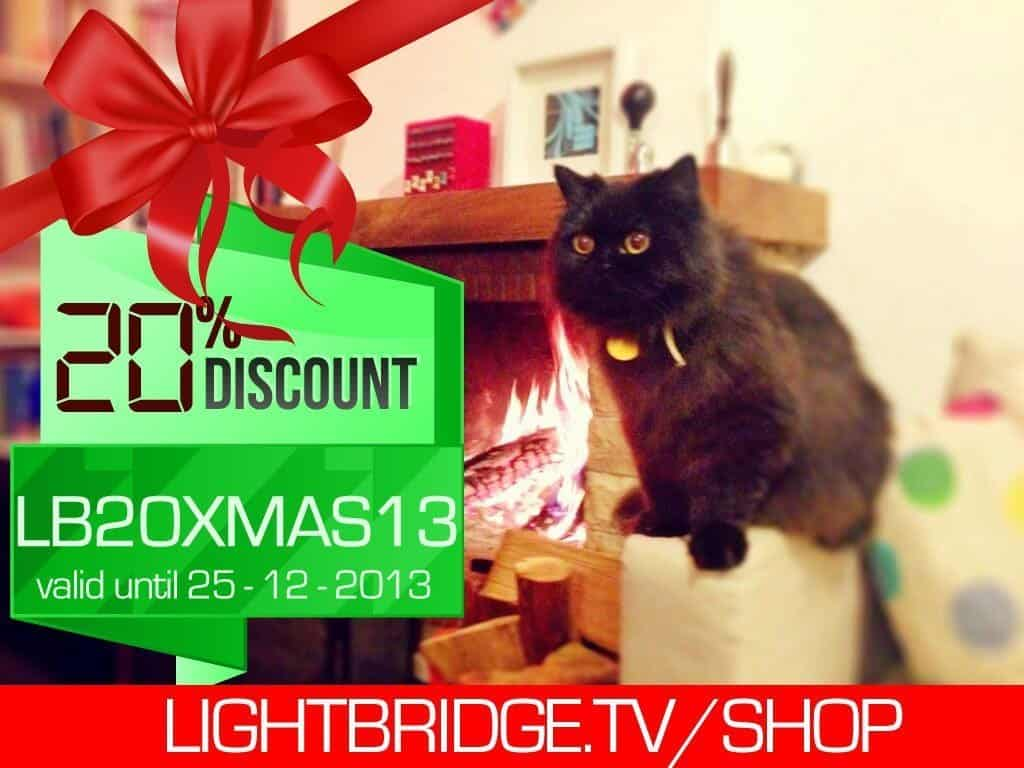 Lightbridge Xmas 2013 sale -20% off