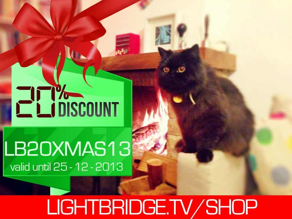 Lightbridge Xmas 2013 sale -20% off