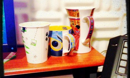 A day expressed in cups