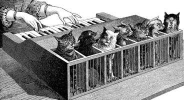 Cat Piano - By La Nature [Public domain], via Wikimedia Commons