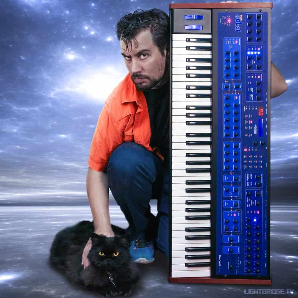 Lightbridge and Batman in space-synth bliss!