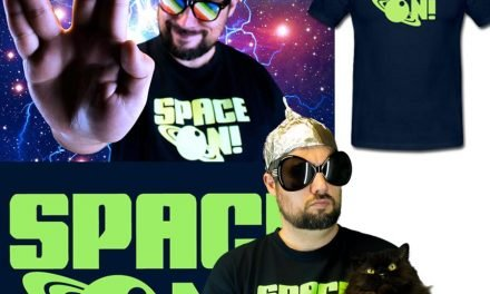 "The ""Space On"" T-Shirt is now available in our e-shop"
