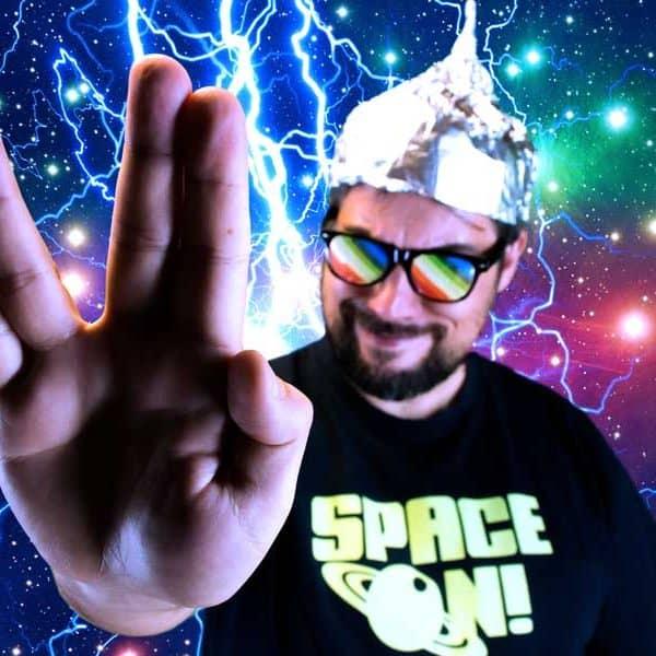 Thanasis Lightbridge - Space On! T-shirt